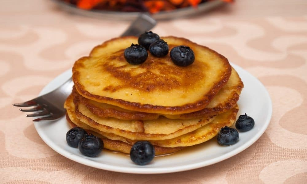 Gresskar – pannekaker med friske bær